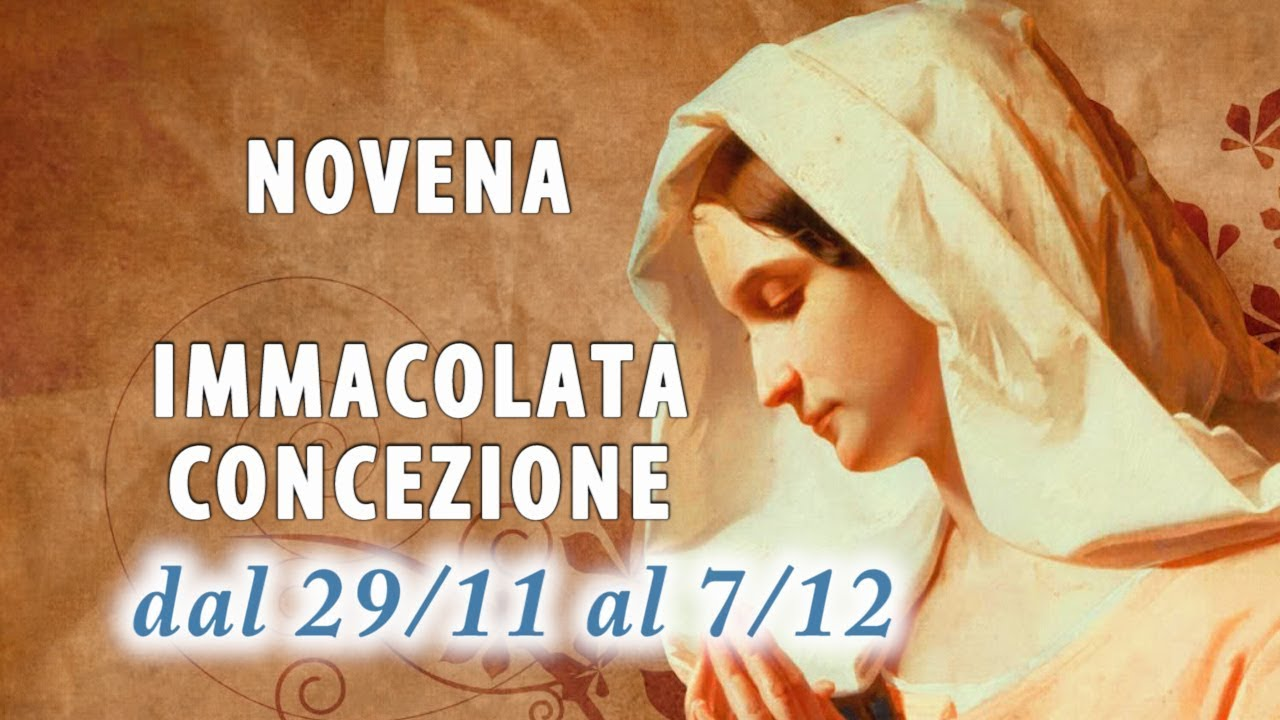 Novena all'Immacolata